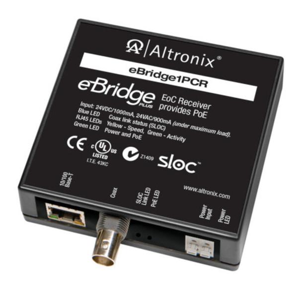 Altronix eBridge1PCR EoC Single Port Receiver - 25Mbps