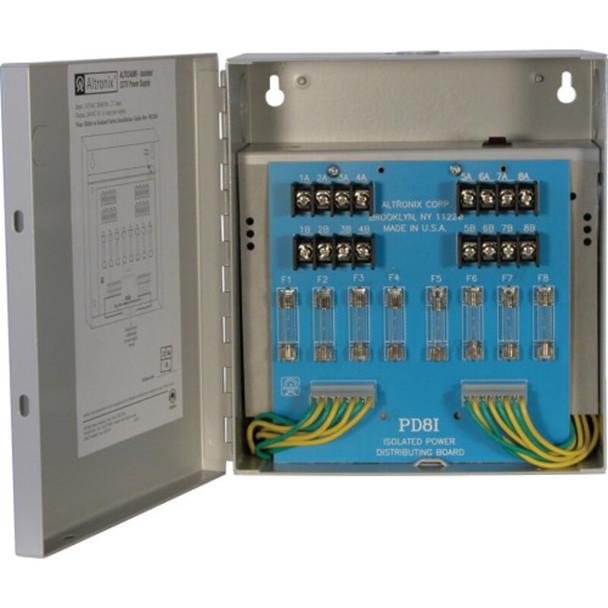 Altronix ALTV248MI220 CCTV Power Supply - 8 Fused Outputs
