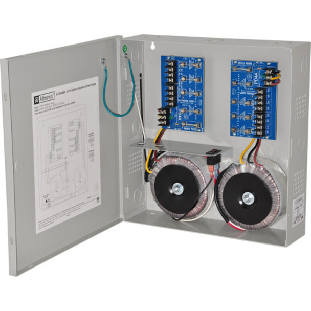 Altronix ALTV248600 CCTV Power Supply - 8 Fused Outputs