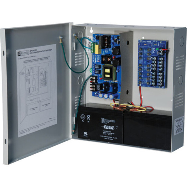 Altronix SMP10PM24P8 Power Supply Charger - 8 Fused Outputs