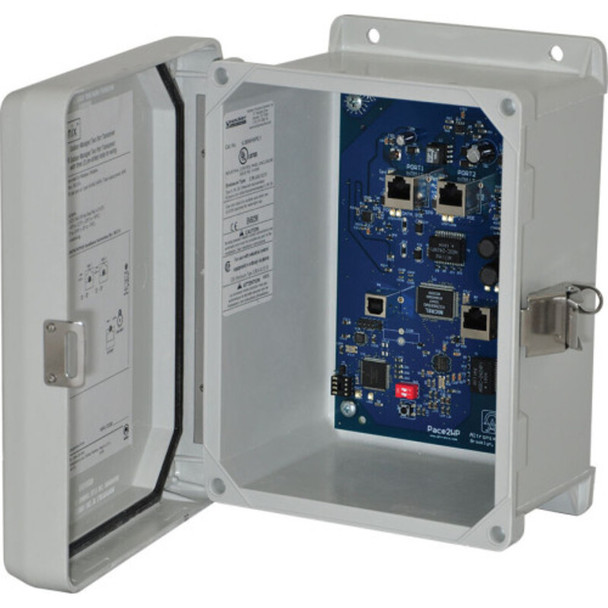 Altronix eBridge200WPM EoC or Long Range Ethernet 2 Port Transceiver - Outdoor