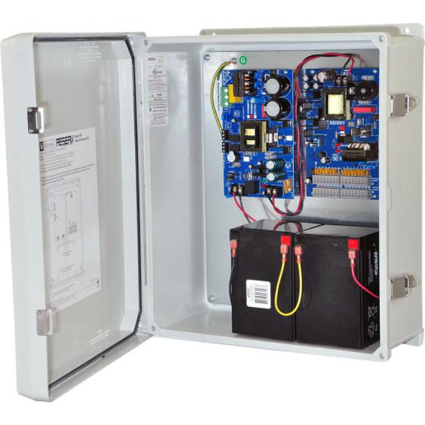 Altronix ReServ1WP Video Surveillance UPS - 4 PTC Outputs 12VDC @ 2A and 12 PTC Outputs 24VAC @ 4A