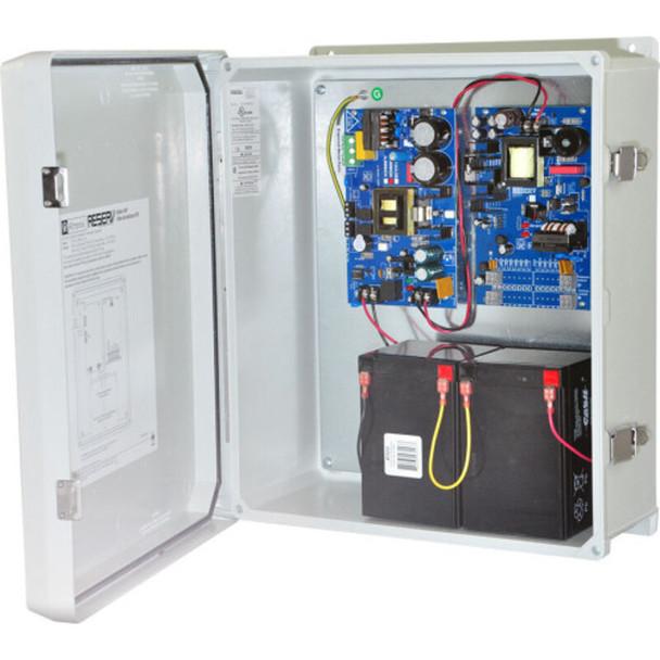 Altronix ReServ4WP Video Surveillance UPS - 2 PTC Outputs 12VDC @ 1A and 2 PTC Outputs 24VAC @ 4A