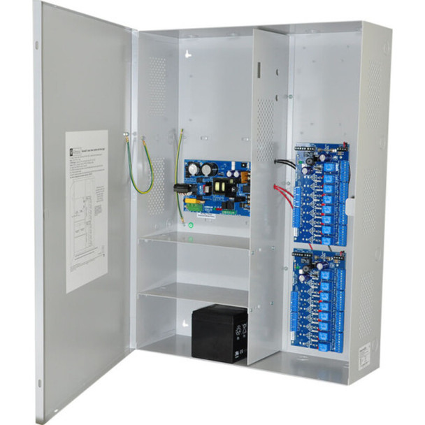 Altronix Maximal3D Access Power Controller with Power Supply/Charger - 16 PTC Class 2 Relay Outputs