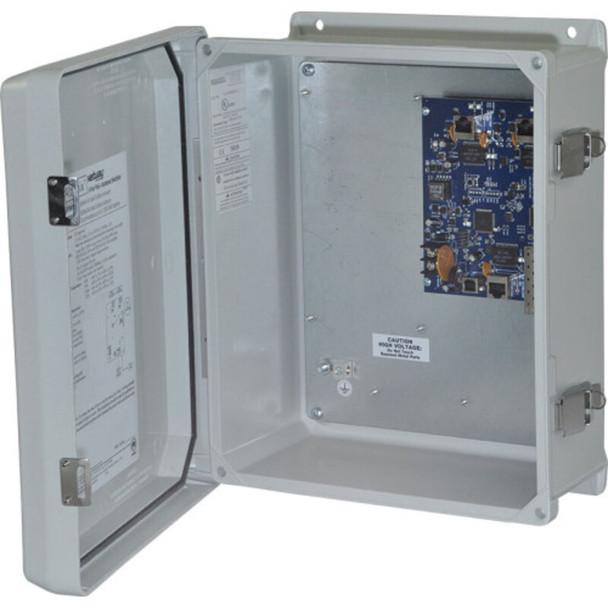 Altronix NetWaySP3WPN Single 1G Fiber SFP - 3 port 10/100/1000 (2 ports PoE/PoE+ 60W Hi-PoE & 1 port PoE/PoE+); Hardened