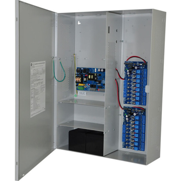 Altronix Maximal3F Access Power Controller with Power Supply/Charger - 16 Fused Relay Outputs