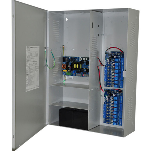 Altronix Maximal7F Access Power Controller with Power Supply/Charger - 16 Fused Relay Outputs