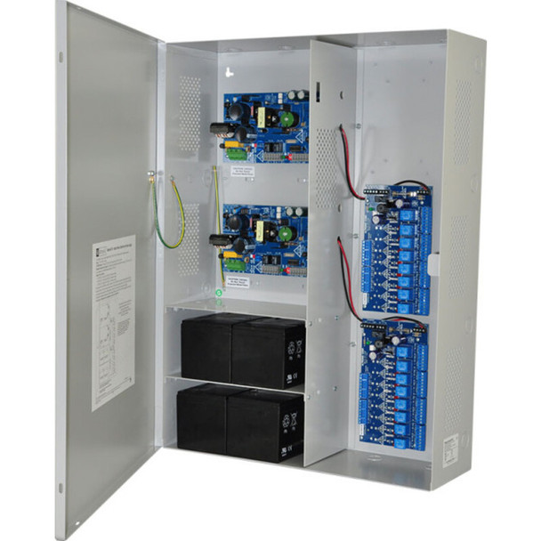 Altronix Maximal11FD Access Power Controller with Power Supply/Chargers - 16 PTC Class 2 Relay Outputs