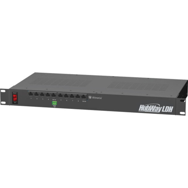 Altronix HubWayLDH8 UTP Active Transceiver Hub - 8 Channel
