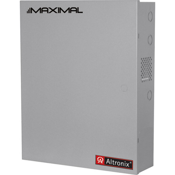 Altronix Maximal55D Access Power Controller with Power Supply/Chargers - 16 PTC Class 2 Relay Outputs