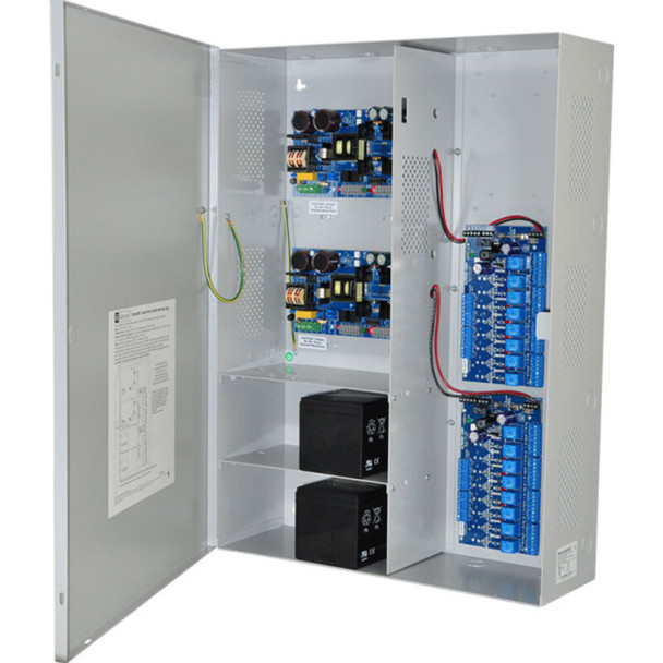 Altronix Maximal55FD Access Power Controller with Power Supply/Chargers - 16 PTC Class 2 Relay Outputs