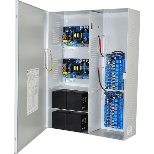 Altronix Maximal77F Access Power Controller with Power Supply/Chargers - 16 Fused Relay Outputs