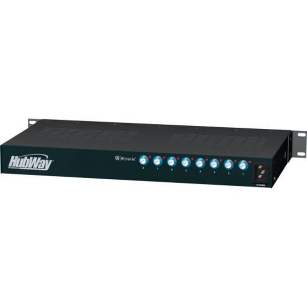 Altronix HubWayLD8D UTP Active Transceiver Hub - 8 Channel