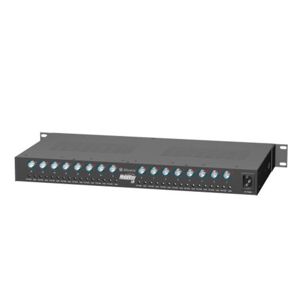 Altronix HubWayLD16CD UTP Active Transceiver Hub - 16 Channel