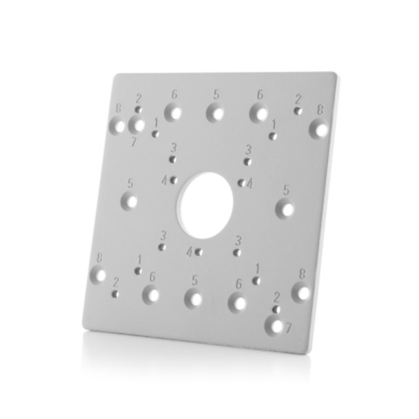 Arecont Vision AV-EBAS-W Square Electrical Box Adapter Plate