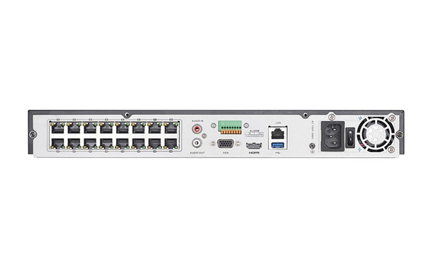 Hikvision DS-7608NI-I2/8P-4TB 8-Channel H.265+ 4K Network Video Recorder - 4TB HDD Installed
