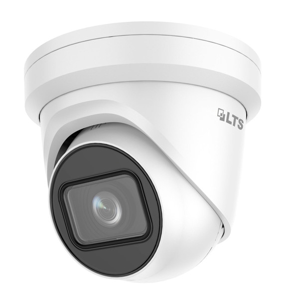 8 Megapixel (4K) InfraRed for Night Vision Outdoor Turret Network (IP) Security Camera, H.265 Plus Compression, Weatherproof, SD Card Support, 2.8~12mm Varifocal (Manual Zoom) Lens, CMIP3283NW-SZ