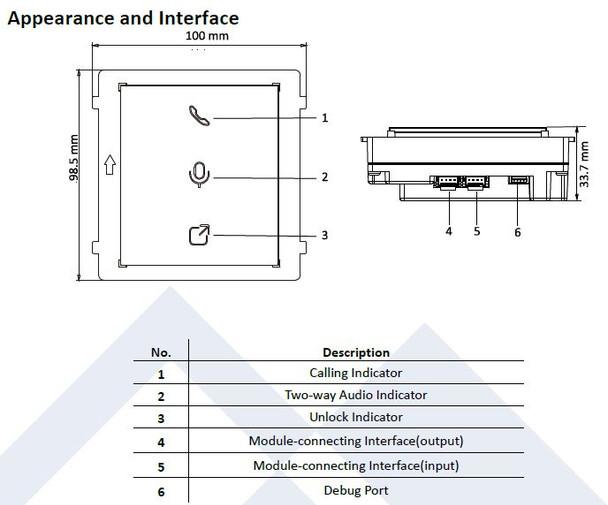 LTS LTH-M201-IM Indicator Module