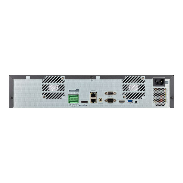 Samsung Hanwha XRN-2010A 32 Channel 4K Network Video Recorder Back Panel