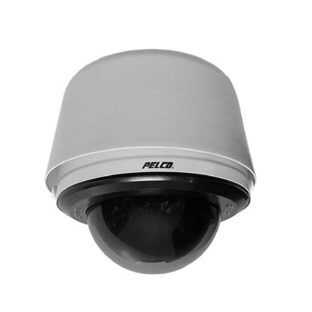 Pelco S6230-ESGL1 2MP Outdoor PTZ Dome IP Security Camera with 30x Optical Zoom - Stainless Steel, Pendant, Clear