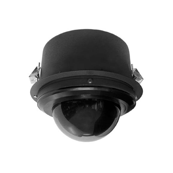 Pelco S6230-YBL1 2MP Outdoor PTZ Dome IP Security Camera with 30x Optical Zoom - Inceiling, Clear, Black
