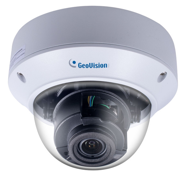 Geovision GV-TVD4710 4MP H.265 IR Outdoor Dome IP Security Camera with 4.3x Optical Zoom