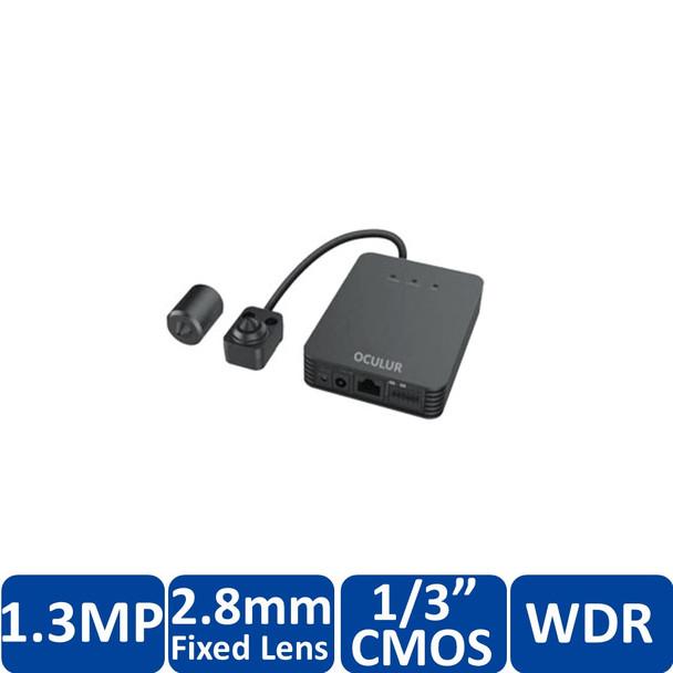 Oculur X1PHL 1MP Indoor L-Shaped Pinhole IP Security Camera