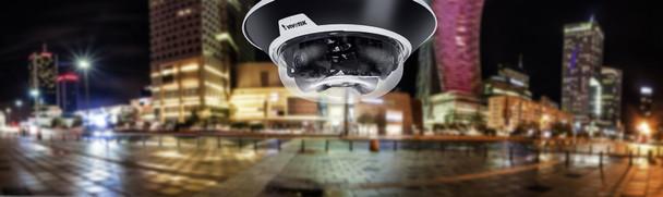 Vivotek MA9322-EHTV 20MP IR Multi-sensor Outdoor Dome IP Security Camera with 3.7~7.7mm Lens