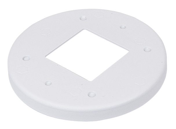 "Vivotek AM-51G Adapting Plate for 3.5"" Electrical Octagon Box & Single Gang Box"