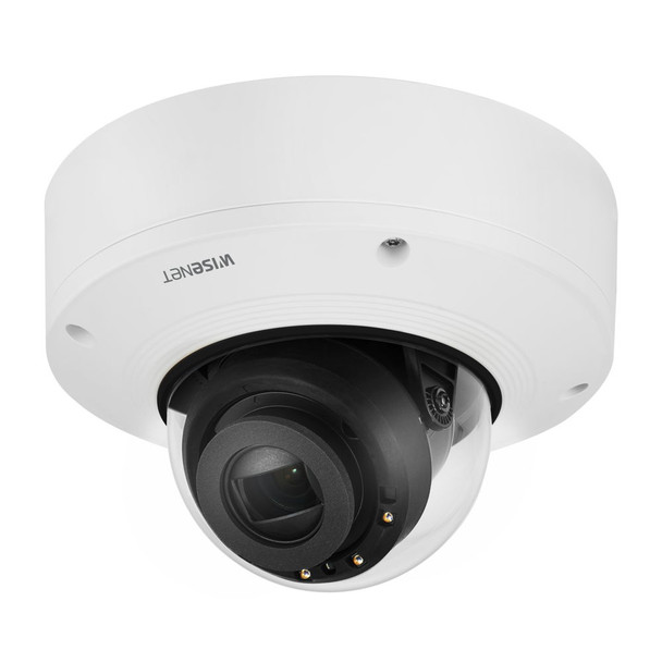 Samsung Hanwha XNV-6081R 2MP H.265 IR Dome IP Security Camera