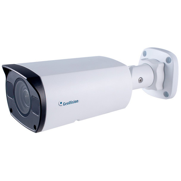 Geovision GV-TBL4710 4MP H.265 IR Bullet IP Security Camera with 4.3x Zoom Lens