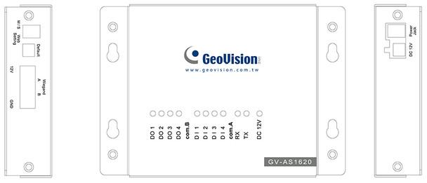 Geovision GV-AS1620 Single Door IP Controller
