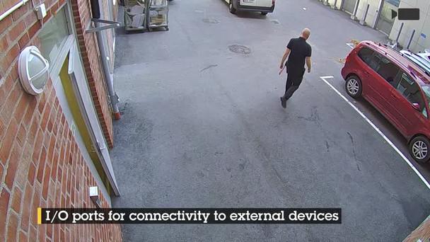 AXIS M3206-LVE 4MP IR H.265 Outdoor Dome IP Security Camera 01518-001