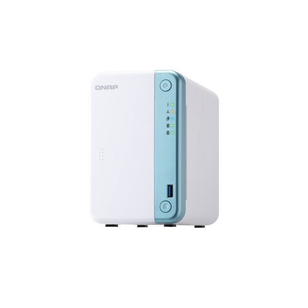 QNAP TS-251D-2G-US 2-Bay Multimedia NAS with a PCIe Slot and 2GB RAM