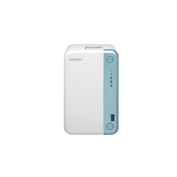 QNAP TS-251D-4G-US 2-Bay Multimedia NAS with a PCIe Slot and 4GB RAM