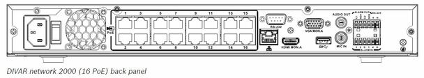 Bosch DDN-2516-112D00 16 Channel 4K Network Video Recorder - 2TB HDD Pre-installed, DVD