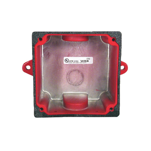 Bosch WBB-R Weather-resistant Back Box (red)
