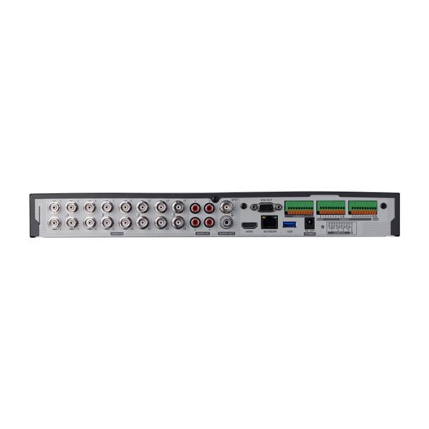 Samsung Hanwha HRX-1620-6TB 16 Channel Pentabrid Digital Video Recorder - 6TB HDD included