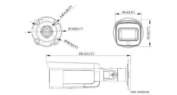 Hikvision DS-2CD2T46G1-4I/SL 2.8MM 4MP IR AcuSense Bullet IP Security Camera