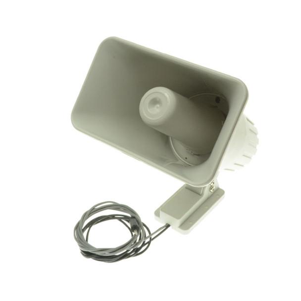 ETS HSA-8 Economical 5x8 Indoor/Outdoor Horn Speaker with Integrated 30W Power Amplifier