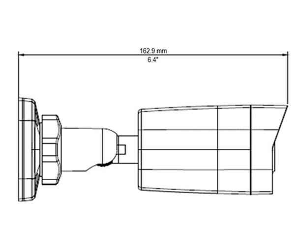 Geovision GV-TBL4703-0F 4MP H.265 IR Outdoor Bullet IP Security Camera