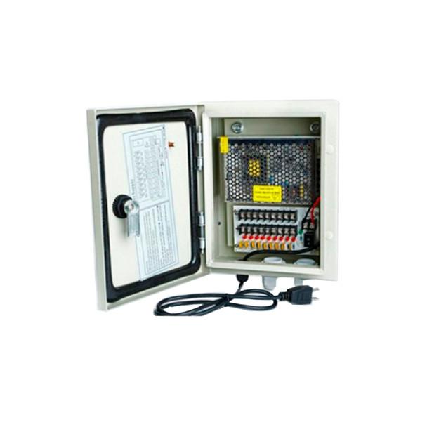 Oculur PC12P-10AO 12V 9 PTC Outdoor CCTV Power Supply