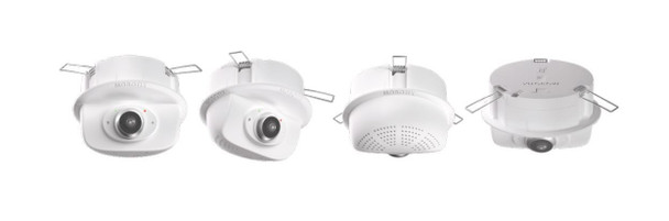 Mobotix MX-P26B-AU-6N 6MP Indoor IP Security Camera - Body only, Night Sensor with Audio Pack