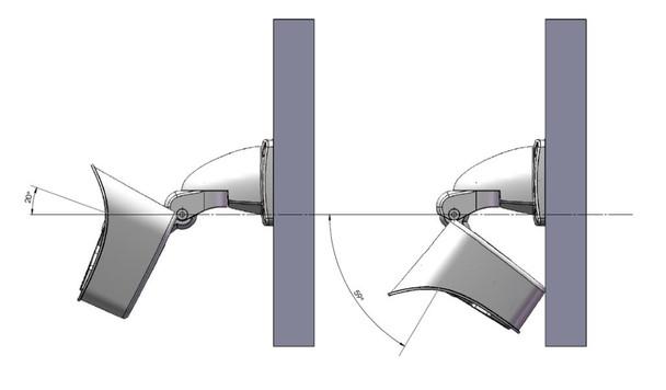 Mobotix Mx-M16TB-R119 M16B Thermografic IP Security Camera with Thermal Radiometry, 50 mK, 25-degree Lens