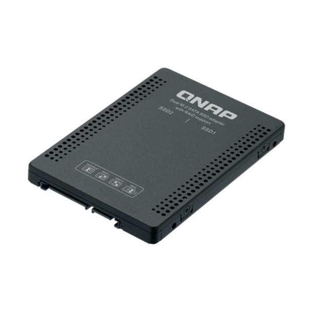 "QNAP QDA-A2MAR Dual M.2 SATA SSD to 2.5"" SATA adapter with RAID support"