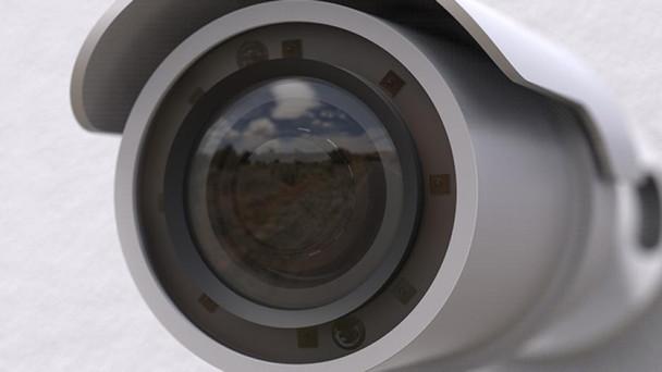 Mobotix Mx-BC1A-4-IR-D 4MP IR Outdoor Bullet IP Security Camera with 9-22mm Varifocal Lens