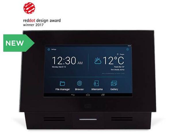 2N Indoor Touch Panel 2.0 Black 01668-001