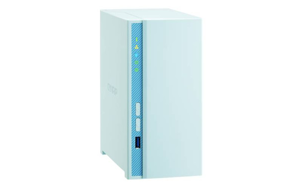 QNAP TS-230-US Budget-friendly Entry-level NAS with 2GB DDR4 RAM