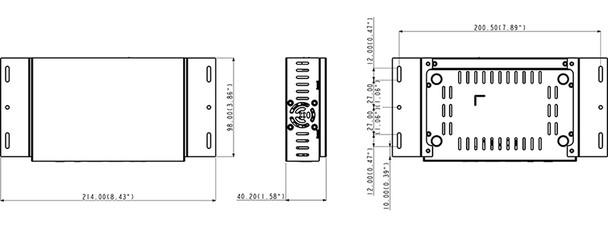 Geovision GV-PN401 Black V1.00 Signage Digital Media Player