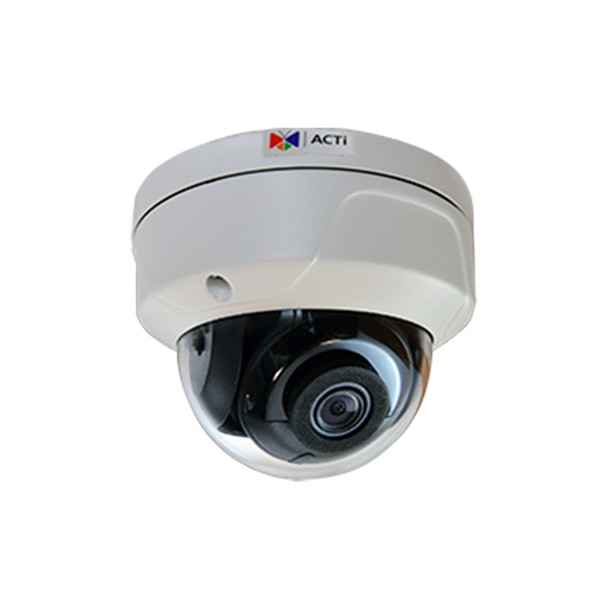 ACTi A74 6MP IR H.265 Outdoor Dome IP Security Camera with Built-in Analytics